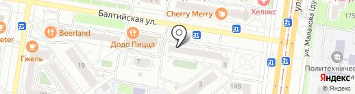 Milo likо на карте Барнаула