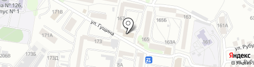 Сырное царство на карте Барнаула
