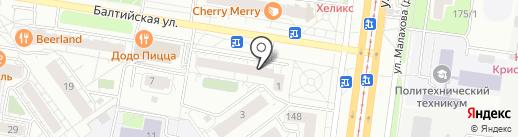 IS service на карте Барнаула