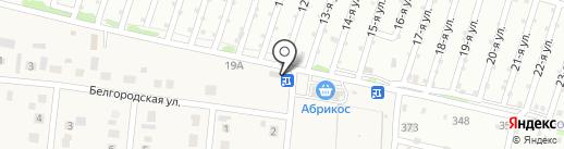 Корзинка на карте Барнаула