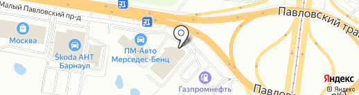 Форд АлтайАвтоЦентр на карте Барнаула