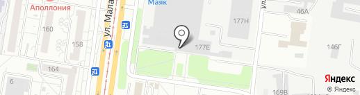 HamerWood на карте Барнаула