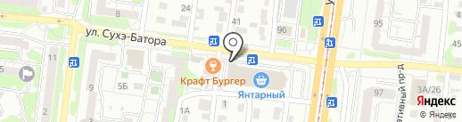 Банкомат, КБ Форбанк на карте Барнаула