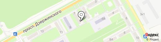 Трест центрального района на карте Барнаула