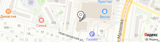 Твой Дом на карте Барнаула