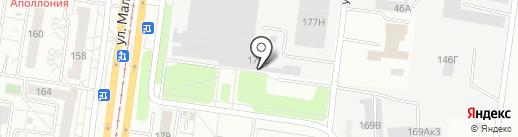 Пегас-7 на карте Барнаула