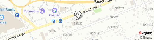 ИнтерКуб на карте Барнаула