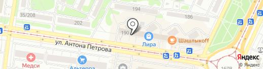 ИСТК ДЕЛЬТА на карте Барнаула