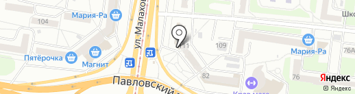 Loretta на карте Барнаула