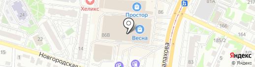My Siberia на карте Барнаула