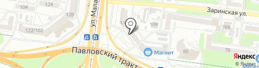 Алтайская федерация киокусинкай на карте Барнаула