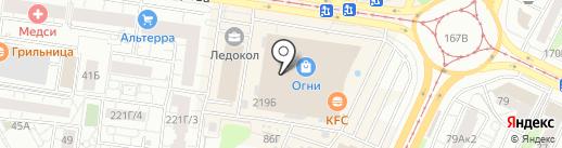 Elite Parfum на карте Барнаула