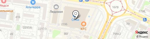 Ёшкин кот на карте Барнаула