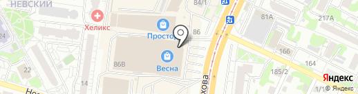 Сокровища пирата на карте Барнаула