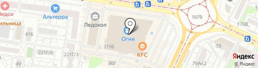 Идея сна на карте Барнаула