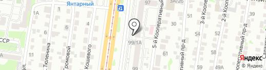 НОРД-производственная безопасность на карте Барнаула