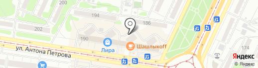 Кабинет косметолога на карте Барнаула