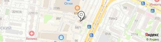 Автореформа на карте Барнаула