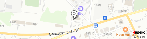 СПОРТ МОТОРС на карте Барнаула