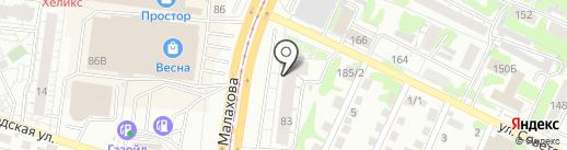D-sight на карте Барнаула