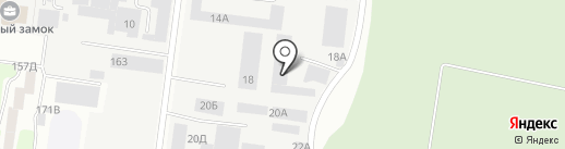 АРИЯ на карте Барнаула
