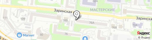iЗавис на карте Барнаула