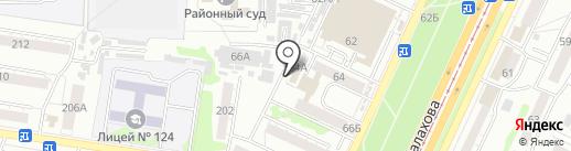 1001 Запчасть на карте Барнаула