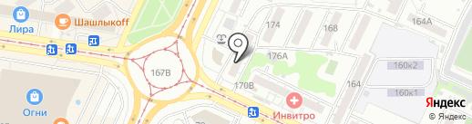 СИБЭКОТУР на карте Барнаула