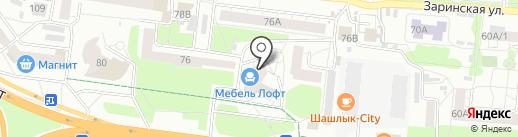 Сибстроймонтаж на карте Барнаула