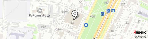 О.К. на карте Барнаула