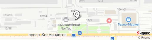 НОРД-СЕРВИС на карте Барнаула