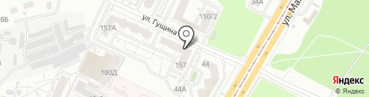 ОПС ПРОФИ-СЕРВИС на карте Барнаула