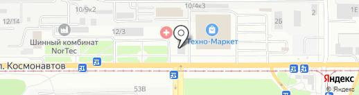 Вива Трейд на карте Барнаула