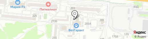 Ультрадез на карте Барнаула