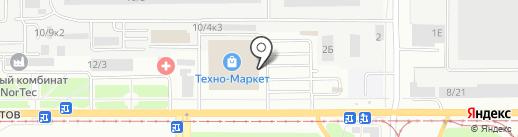 MAZUP! на карте Барнаула