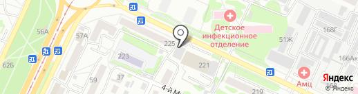 Макси на карте Барнаула