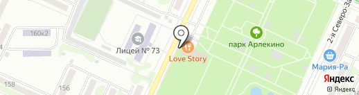 Засада на карте Барнаула
