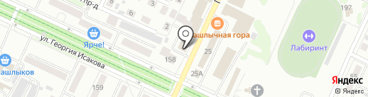 Hard steel на карте Барнаула