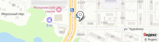 Ярче! на карте Барнаула