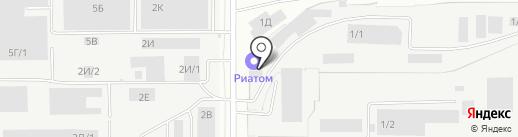 Логистик-Сервис на карте Барнаула