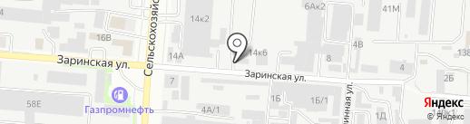 Далар на карте Барнаула