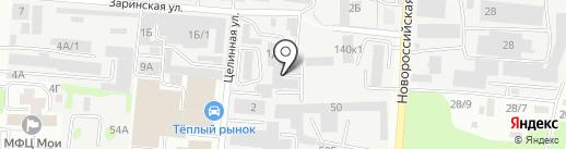 АвтоМастер 911 на карте Барнаула
