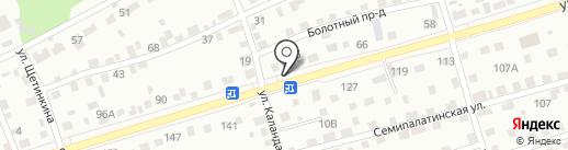 Банный рай на карте Барнаула