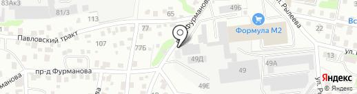 СтопВор-Маркет на карте Барнаула