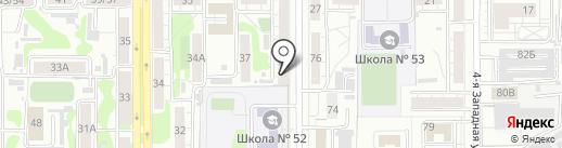 Суши Мастер на карте Барнаула