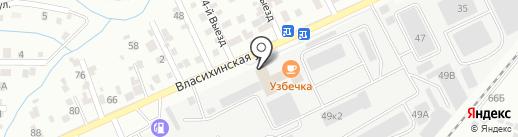 Дом-Про100 на карте Барнаула