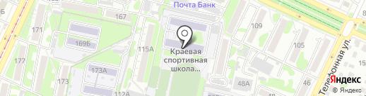 Федерация спортивной борьбы на карте Барнаула