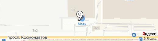 Корпоративная служба безопасности на карте Барнаула