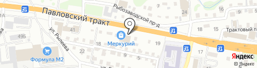 КОТЕЛОК на карте Барнаула