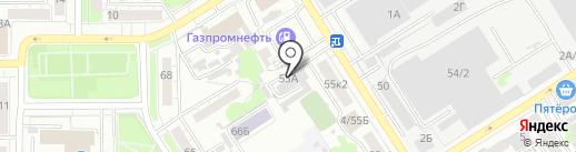 УК Ренессанс на карте Барнаула